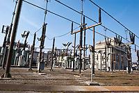Sesto San Giovanni (Milano), centrale elettrica --- Sesto San Giovanni (Milan), power plant