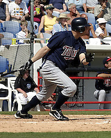 March 29, 2004:  Michael Ryan of the Minnesota Twins organization during Spring Training at Dunedin Stadium in Dunedin, FL.  Photo copyright Mike Janes/Four Seam Images