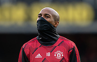 Ashley Young of Man Utd pre match during the Premier League match between Watford and Manchester United at Vicarage Road, Watford, England on 22 December 2019. Photo by Andy Rowland.