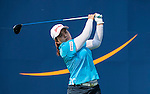 TAOYUAN, TAIWAN - OCTOBER 26:  Inbee Park of South Korea tees off on the 9th hole during the day two of the Sunrise LPGA Taiwan Championship at the Sunrise Golf Course on October 26, 2012 in Taoyuan, Taiwan. Photo by Victor Fraile / The Power of Sport Images