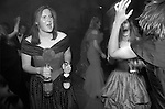 """Cirencester Royal Agricultural College annual end of year dance Gloucestershire England. Circa 1995. """"Girls in red and blue,pink Champagne."""""""