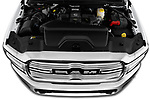 Car stock 2019 Ram 2500 Laramie 4 Door Pick Up engine high angle detail view