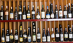 Wine Bottles, Gusto, Rome, Italy