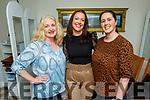 Claire Hickey Shanahan, Caroline Kearney and Siobhan Lenihan enjoying the evening in Bella Bia on Saturday.
