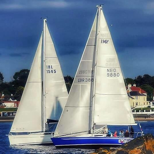 Two Belfast Lough Yachts Competing for the Dun Laoghaire Dingle Race Top Prize