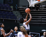 The Old Dominion Lady Monarchs defeat the Charlotte 49ers 81-75 and advance to the championship game of the Tulane/DoubleTree Invitational.