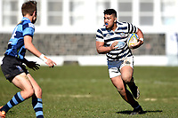 Warren Loulanting of Otago Boys, during the 1st XV South Island Final rugby match between Otago Boys High School 1st XV and Nelson College 1st XV at Littlebourne in Dunedin, New Zealand on Saturday, 31 August 2019. Photo: Joe Allison / lintottphoto.co.nz