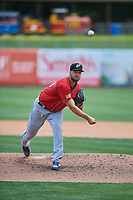 El Paso Chihuahuas starting pitcher Colin Rea (29) delivers a pitch to the plate against the Salt Lake Bees at Smith's Ballpark on July 8, 2018 in Salt Lake City, Utah. El Paso defeated Salt Lake 15-6. (Stephen Smith/Four Seam Images)