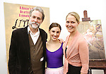 Boyd Gaines and Tiler Peck and Rebecca Luker during the Rehearsal for the Kennedy Center Production of 'Little Dancer - A New Musical' at The New 42nd Street Studios on October 6, 2014 in New York City.