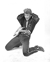Johnny HALLYDAY<br /> Session Le Petit clown de ton coeur<br /> 1960<br /> Credit : ROUGET/DALLE