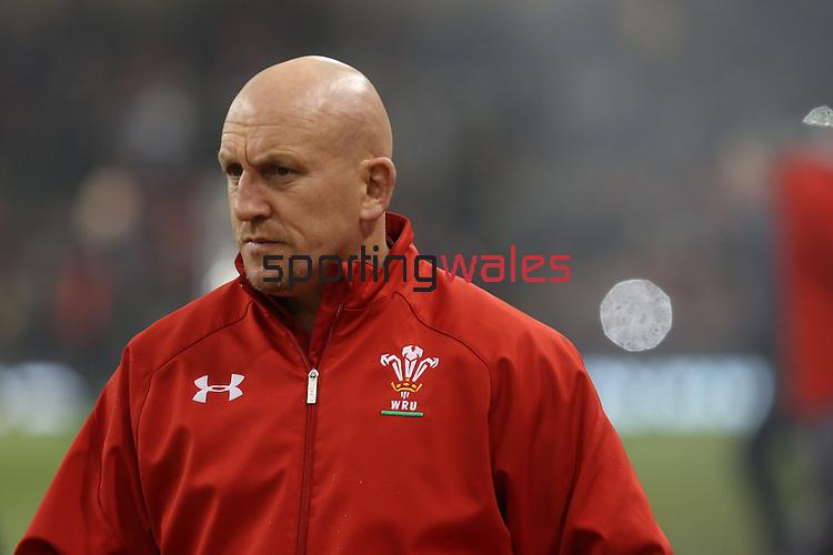 Shaun Edwards<br /> <br /> Dove Men Series 2013<br /> Wales v Tonga<br /> Millennium Stadium - Cardiff<br /> 22.11.13<br /> ©Steve Pope-SPORTINGWALES