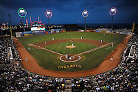 MCU Park during game between the Brooklyn Cyclones and Connecticut Tigers on July 28, 2011 in Brooklyn, NY.  Brooklyn defeated Connecticut 2-1.  Tomasso DeRosa/Four Seam Images
