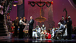 Brynn O'Malley, Anthony Warlow, Merwin Foard, Lilla Crawford & the cast from Broadway's iconic musical ANNIE celebrate creator Charles Strouse's 85th Birthday at The Palace Theatre in New York City on June 06, 2013.