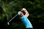 SHENZHEN, CHINA - OCTOBER 30: Lam Zhiqun of Singapore during the day two of Asian Amateur Championship at the Mission Hills Golf Club on October 30, 2009 in Shenzhen, Guangdong, China.  (Photo by Victor Fraile/The Power of Sport Images) *** Local Caption *** Lam Zhiqun
