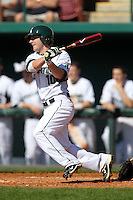 Second baseman Ryan Jones #10 of the Michigan State Spartans during the Big East-Big Ten Challenge vs. the Seton Hall Pirates at Al Lang Field in St. Petersburg, Florida;  February 19, 2011.  Michigan State defeated Seton Hall 5-4.  Photo By Mike Janes/Four Seam Images