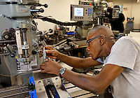 Central Piedmont Community College (CPCC) offers courses mechatronics engineering technology. Mechatronics combines the engineering specialities of mechanical, computer, electronic, software, control and systems design engineering.