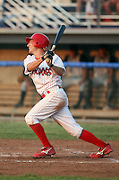 June 27th, 2007:  Ross Oeder of the Batavia Muckdogs, Short-Season Class-A affiliate of the St. Louis Cardinals at Dwyer Stadium in Batavia, NY.  Photo by:  Mike Janes/Four Seam Images