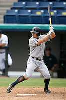 April 15, 2009:  Infielder Brandon Laird of the Tampa Yankees, Florida State League Class-A affiliate of the New York Yankees, during a game at Space Coast Stadium in Viera, FL.  Photo by:  Mike Janes/Four Seam Images