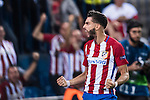 Yannick Carrasco of Atletico Madrid reacts during their 2016-17 UEFA Champions League match between Atletico Madrid vs FC Bayern Munich at the Vicente Calderon Stadium on 28 September 2016 in Madrid, Spain. Photo by Diego Gonzalez Souto / Power Sport Images