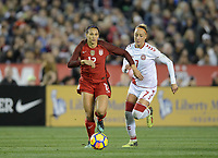 San Diego, Ca - Sunday, January 21, 2018: Lynn Williams during a USWNT 5-1 victory over Denmark at SDCCU Stadium.