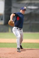 March 20th 2008:  Alan Brech of the Cleveland Indians minor league system during Spring Training at Chain of Lakes Training Complex in Winter Haven, FL.  Photo by:  Mike Janes/Four Seam Images