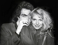 Donna Dixon with Paul Stanley at Limelight nightclub in Atlanta<br /> Photo by Adam Scull/PHOTOlink