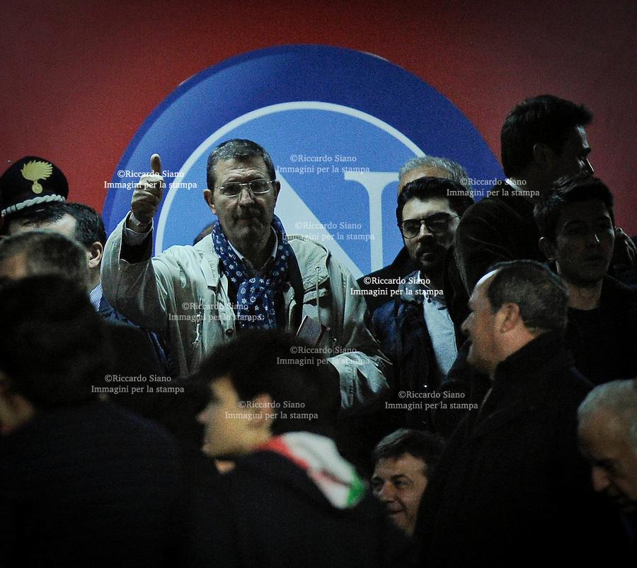 - NAPOLI 30 Marzo   2014 -  Napoli - Juventus.    Mario Pesce