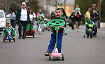 Friends and family members joined about 35 preschoolers for the annual Kinderland St. Patrick's Day Parade in Carson City, Nev., on Thursday, March 14, 2013. The annual event dates back to the 1970s..Photo by Cathleen Allison