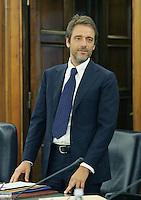 Paolo Corder.CSM - Consiglio Superiore della Magistratura (Plenum) .Nomina del Vice Presidente.Roma, 2 Agosto 2010.Photo Serena Cremaschi Insidefoto