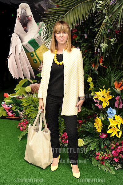 """Kate Garaway<br /> arives for the """"Rio 2"""" Screening at the Vue cinema Leicester Square, London. 30/03/2014 Picture by: Steve Vas / Featureflash"""