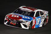 CONCORD, NORTH CAROLINA - MAY 24: Kyle Busch, driver of the #18 M&M's Red White Blue Toyota, drives during the NASCAR Cup Series Coca-Cola 600 at Charlotte Motor Speedway on May 24, 2020 in Concord, North Carolina. (Photo by Chris Graythen/Getty Images)