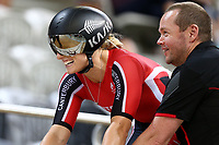 Olivia Podmore competes in the Elite Women Sprint during the 2020 Vantage Elite and U19 Track Cycling National Championships at the Avantidrome in Cambridge, New Zealand on Friday, 24 January 2020. ( Mandatory Photo Credit: Dianne Manson )