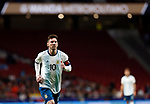 Argentina's Leo Messi  during the International Friendly match on 22th March, 2019 in Madrid, Spain. (ALTERPHOTOS/Manu R.B.)