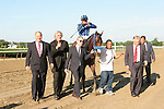 July 04 2015: Private Zone with Martin Pedrozza win the Grade III Belmont Sprint for 3-year olds & up, going 7 furlongs at Belmont Park.  Trainer Jorge Navarro. Owner Good Friends Stable LLC. Sue Kawczynski/ESW/CSM