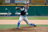 April 27, 2008: UCLA's Gavin Brooks delivers a pitch against the University of Washington at Husky Ballpark in Seattle, Washington.