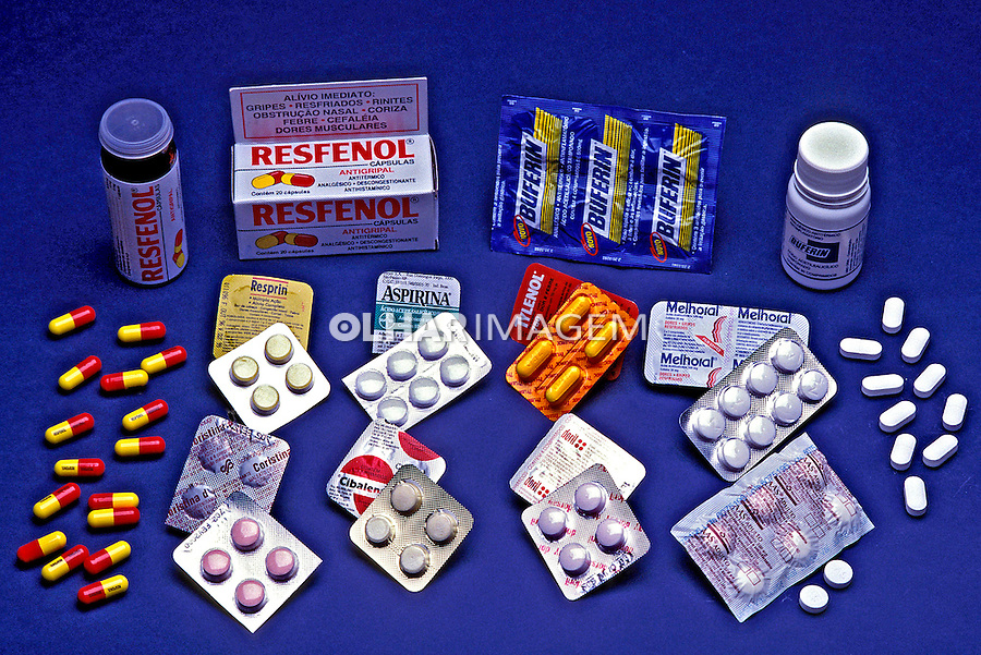 Embalagem de comprimidos.  Foto de Thais Falcão.