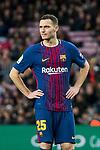 Thomas Vermaelen of FC Barcelona looks on during the La Liga 2017-18 match between FC Barcelona and Levante UD at Camp Nou on 07 January 2018 in Barcelona, Spain. Photo by Vicens Gimenez / Power Sport Images