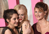 Shailene Woodley, Nicole Kidman, Laura Dern @ the Los Angeles Premiere for the new HBO Limited Series BIG LITTLE LIES held @ the Chinese theatre. February 7, 2017 , Hollywood, USA. # PREMIERE DE LA SERIE 'BIG LITTLE LIES' A HOLLYWOOD