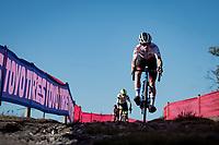 European Champion and World Cup Series leader Eli Iserbyt (BEL/Pauwels Sauzen - Bingoal) <br /> <br /> Elite Men's Race<br /> 2021 UCI cyclo-cross World Cup - Zonhoven (BEL)<br /> <br /> ©kramon
