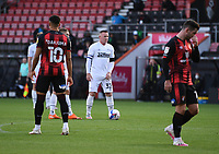 31st October 2020; Vitality Stadium, Bournemouth, Dorset, England; English Football League Championship Football, Bournemouth Athletic versus Derby County; Wayne Rooney of Derby County lines up a free kick