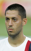 Clint Dempsey of the USA. The USA and Italy played to a 1-1 tie in their FIFA World Cup Group E match at Fritz-Walter-Stadion, Kaiserslautern, Germany, June 17, 2006.