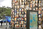 Childrens Photo Mural, Reykjavik, Iceland