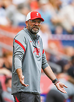 25th August 2020, Red Bull Arena, Slazburg, Austria; Pre-season football friendly, Red Bull Salzburg versus Liverpool FC;  Trainer Juergen Klopp FC Liverpool aghast as goal chance goes begging