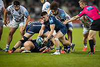 28th May 2021; AJ Bell Stadium, Salford, Lancashire, England; English Premiership Rugby, Sale Sharks versus Bristol Bears;  Raffi Quirke of Sale Sharks had an excelent game after coming off the benck for  Faf De Klerk
