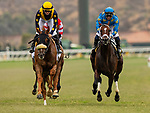JULY 24, 2021: United with Flavien Prat defeats Smooth Like Strait with Umberto Rispoli  in the early running of  the Eddie Read Stakes at the Del Mar Fairgrounds in Del Mar, California on July 24, 2021. Evers/Eclipse Sportswire/CSM