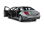 Car images of a 2018 Mercedes Benz C-Class C300 Sport 4 Door Sedan Doors