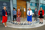 The ETB Head Office in Centre Point, Tralee has been endorsed by the Dept of Education's Centre for School Leadership Endorsement and are pictured with the staff members of their schools. L to r: Theresa Lonergan (Castleisland Community College), Conall O'Cruadhlaoich (Gael Choláiste Chiarraí), Ann O'Dwyer (Kerry ETB), Margaret Godley (Kerry ETB), Jennifer Barry (Causeway Comprehensive) and Liam McGill (Colaiste Gleann Lí).