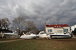 U.S East Coast damage left by Hurricane Sandy