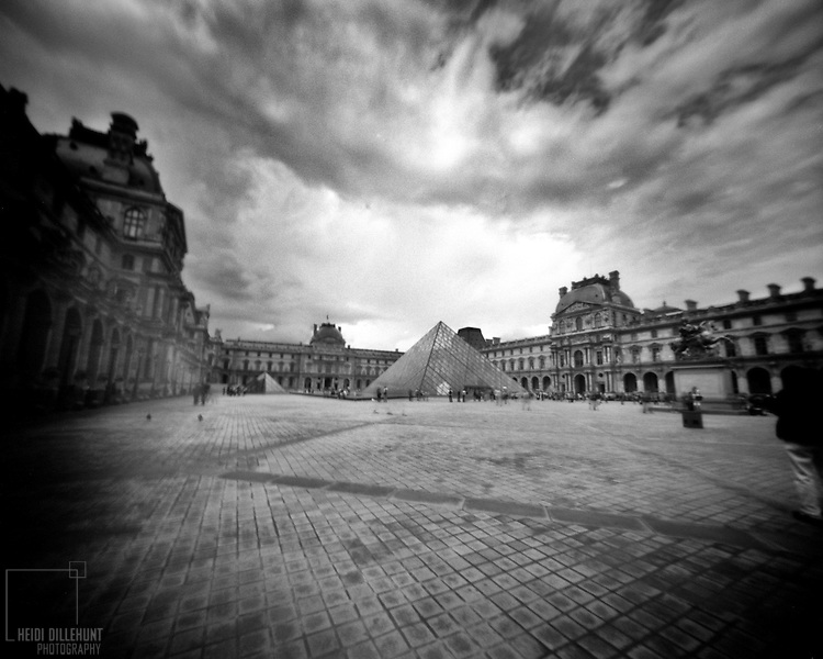 Clouds over Le Louvre