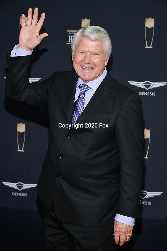 MIAMI, FL - FEBRUARY 1: Jimmy Johnson attends the 2020 NFL Honors at the Ziff Ballet Opera House during Super Bowl LIV week on February 1, 2020 in Miami, Florida. (Photo by Anthony Behar/Fox Sports/PictureGroup)